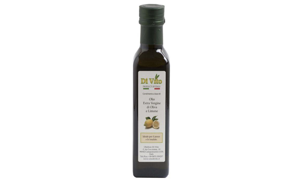 Condimento a base di Olio Extravergine di Oliva e Limone