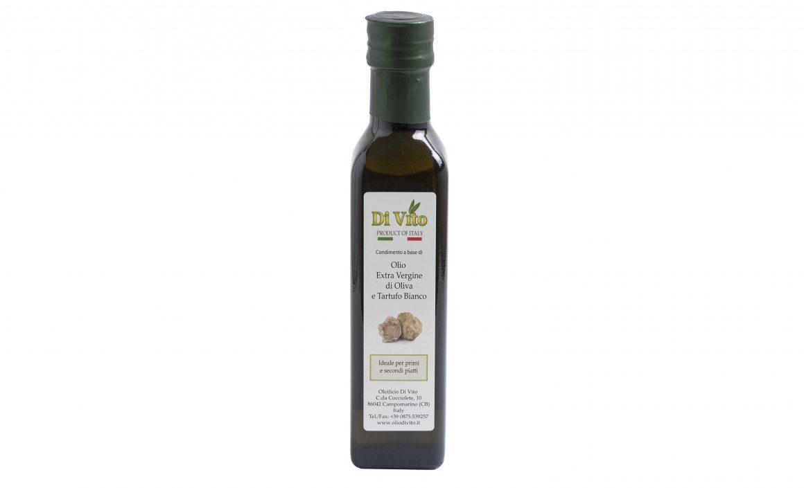 Condimento a base di Olio Extravergine di Oliva e Tartufo Bianco o Nero